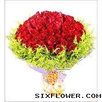 99枝红玫瑰/天长地久