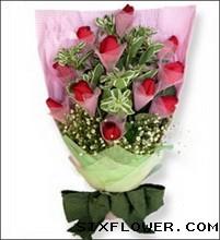 11枝红玫瑰/默默的想你