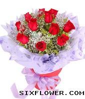 11枝红玫瑰/一心一意的爱你