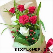 6枝玫瑰/梦中情人
