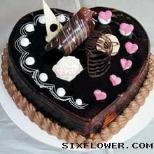 巧克力蛋糕/心型巧衣