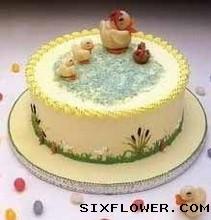 相思比梦长/8寸圆形水果鲜奶蛋糕:8寸蛋糕/生日快乐