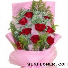 11枝红玫瑰/祝福永远