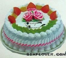 10寸水果蛋糕/生日快乐