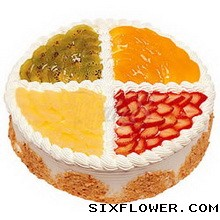 生日快乐/水果木司蛋糕