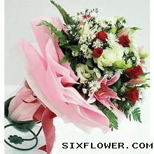 难以忘怀/11枝白色玫瑰