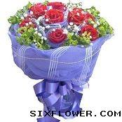 11枝红玫瑰/因为爱你