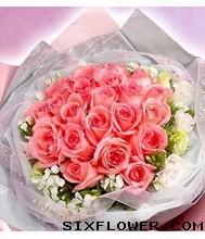 33枝玫瑰蛋糕/我的爱人,一切尽在不言中:21枝粉玫瑰/美丽传说
