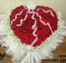给你一个幸福的人生/20枝红色玫瑰礼盒:99枝红玫瑰/爱的火花
