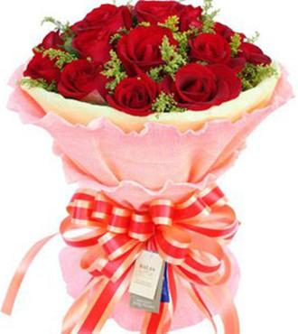 你的魅影在我心中/66枝紫玫瑰:永恒不变_16枝红玫瑰