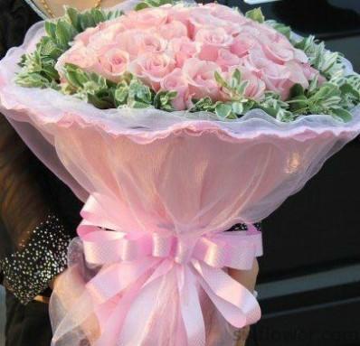 爱人/21枝粉色玫瑰