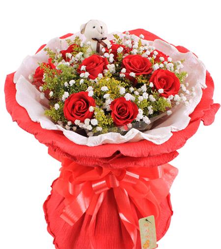 知心的你/11枝红玫瑰