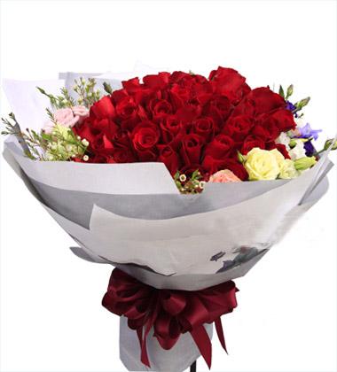 99枝红色玫瑰/心声
