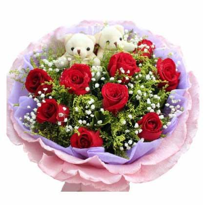有你真精彩/11枝红玫瑰