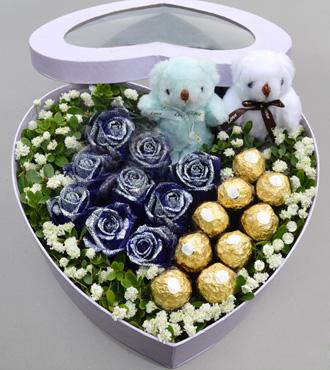 心形花盒/一直爱
