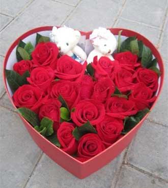 19枝红玫瑰/永远珍藏