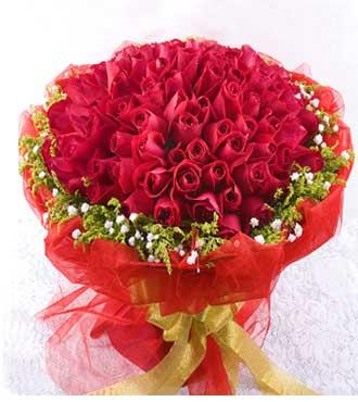 遇见她/19枝戴安娜玫瑰:99枝红玫瑰/甜蜜