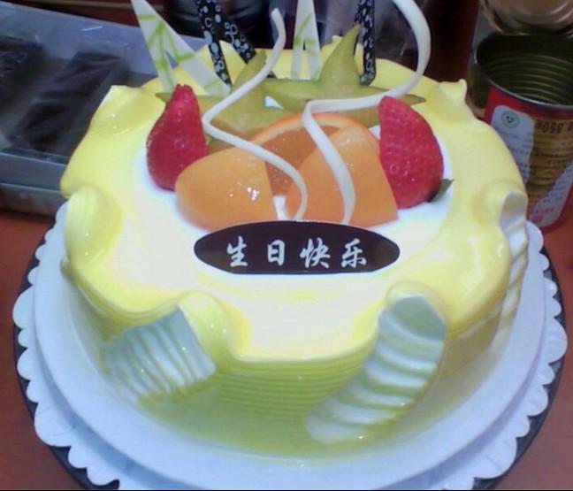 水果蛋糕/美好心情