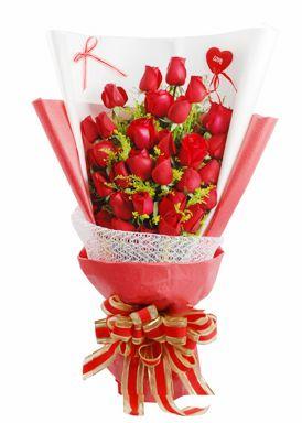 33枝红玫瑰/天生一对