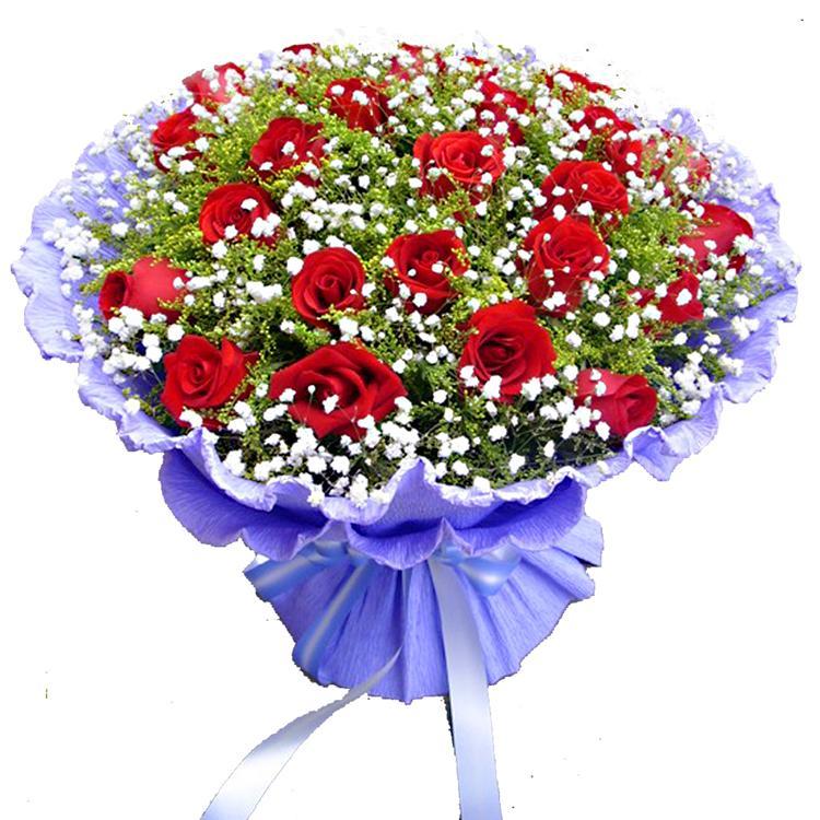 拥抱思念/33枝红玫瑰
