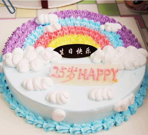 鲜奶蛋糕/多姿多彩
