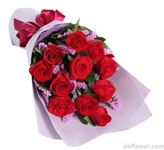红玫瑰11枝/痴情依托