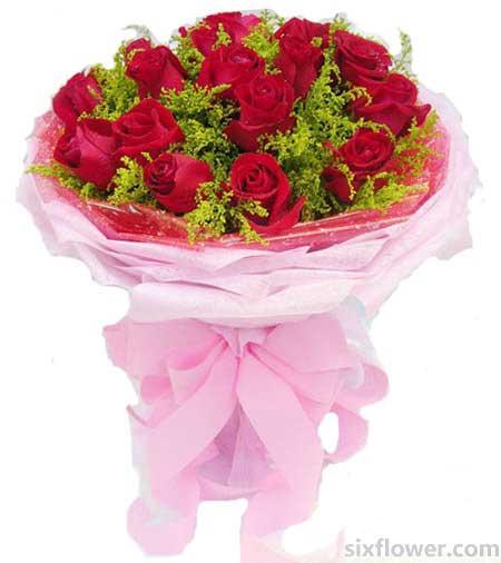 爱的愉悦/19枝玫瑰礼盒:永远爱你/20枝红玫瑰
