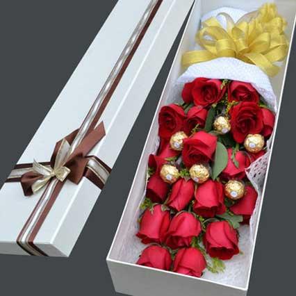情人节快乐/盒装花束