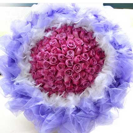 一直爱你/99枝紫玫瑰