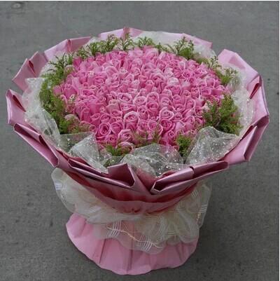 一起到永久/99枝紫玫瑰