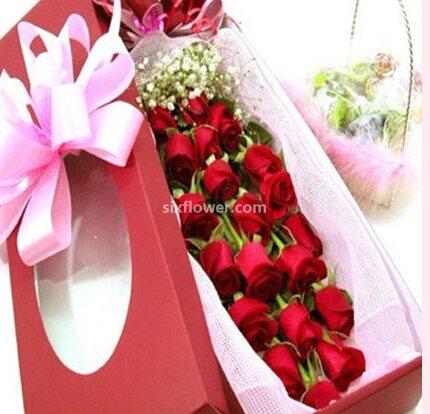 99枝玫瑰/真爱永恒:虔诚情感/20枝玫瑰礼盒