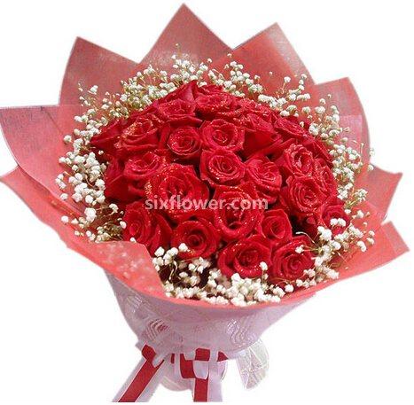33枝玫瑰/我的思念:想念你温柔/33枝玫瑰