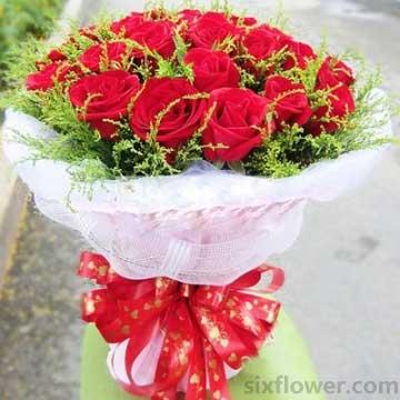 美丽秘密/21枝红玫瑰