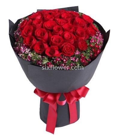 33枝红玫瑰/最浪漫的气氛