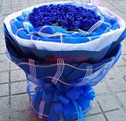 爱是不朽传奇/33枝蓝玫瑰