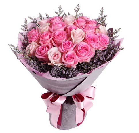 我想你了/19枝白色玫瑰:29枝玫瑰/初春佳人