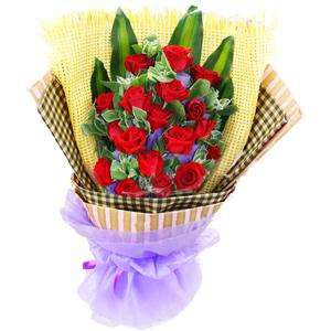 一生的企盼/18支红玫瑰