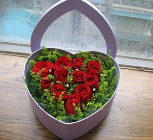 秘密花园/11枝红玫瑰礼盒