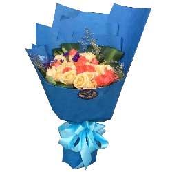 你是我的另一半/19枝粉色玫瑰礼盒:亲爱的想你了/22枝玫瑰