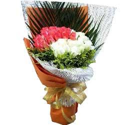 永远呵护你/17枝粉玫瑰巧克力:喜悦与你同行/66枝玫瑰