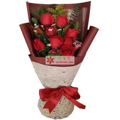 多姿多彩的爱情/9枝红色玫瑰