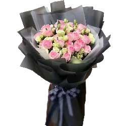 我的生命中每一天都有你/33枝粉色玫瑰