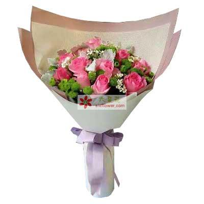 爱的芬芳/12枝玫瑰