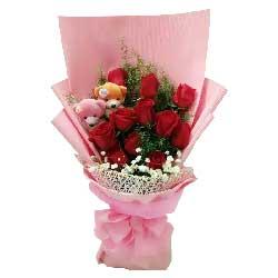 温婉如诗/16枝玫瑰:优美的爱情曲/11枝玫瑰