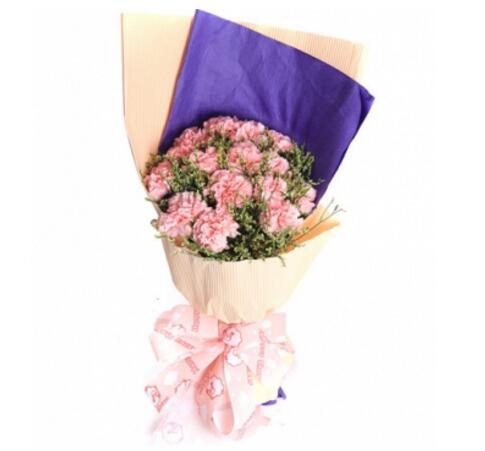 遇到你真好/18枝玫瑰:我的祝福传给您/12枝康乃馨