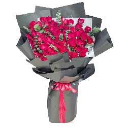 今生手相牵/99枝香槟玫瑰:真爱永不改变/66枝红色玫瑰