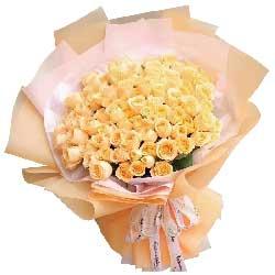 一辈子的爱/66枝粉玫瑰:我无法忘记你/33枝香槟玫瑰