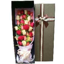 只想和你一起幸福到永远/33枝玫瑰