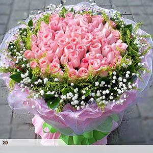 念念不忘/99枝粉玫瑰