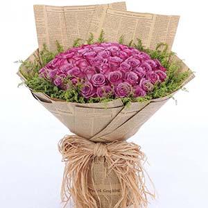 圈住我对你的思念/99枝紫玫瑰